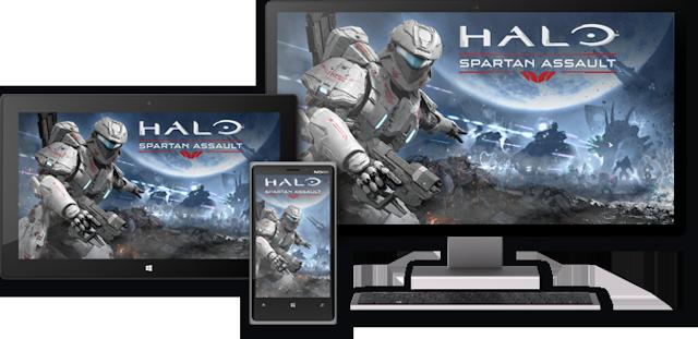 Halo Spartan Assault platforms
