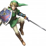 Super Smash Bros Wii U and 3DS Link Artwork