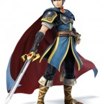 Super Smash Bros Wii U and 3DS Marth Artwork