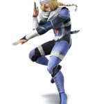 Super Smash Bros Wii U and 3DS Sheik Artwork