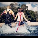 Yuna and Tidus Cosplay Final Fantasy