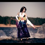 Yuna and Tidus Cosplay Model