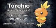 Torchic Pokemon X and Y artwork