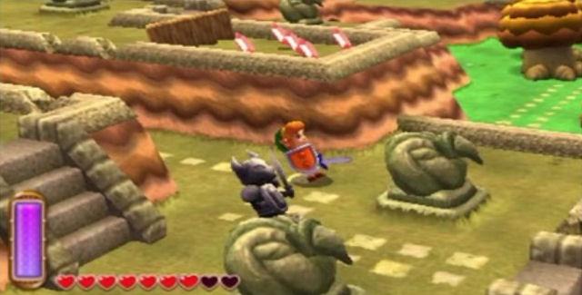 Zelda: A Link Between Worlds Easter Eggs