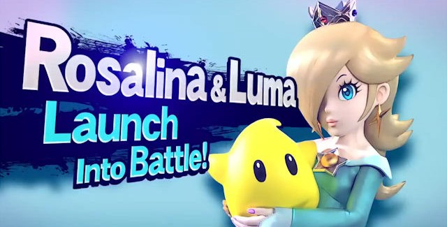 Rosalina and Luma join Super Smash Bros for Wii U & 3DS
