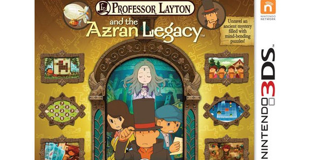 3ds professor layton and the azran legacy walkthrough