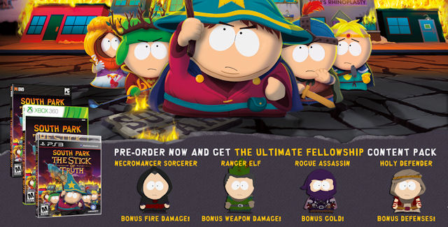 South Park: The Stick of Truth Cheats