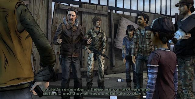 The Walking Dead Game: Season 2 Episode 3 screenshot