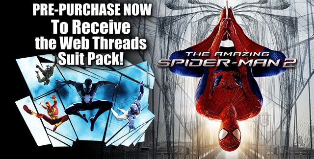 The Amazing Spider-Man 2 Game DLC Costumes