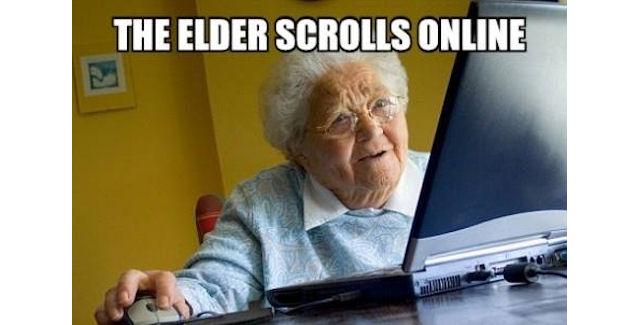 The Elder Scrolls Online literal joke