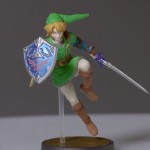 Amiibo Link Figure close-up Wii U Nintendo