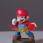 Amiibo Mario Figure Closeup Wii U Nintendo