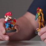 Amiibo Mario vs Samus Toy Fight