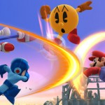 Pacman Megaman Sonic Mario Mascot Party Gameplay Screenshot E3 2014 Wii U