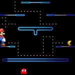 Smash 4 Pac-Man 3DS Maze Stage Gameplay Screenshot E3 2014