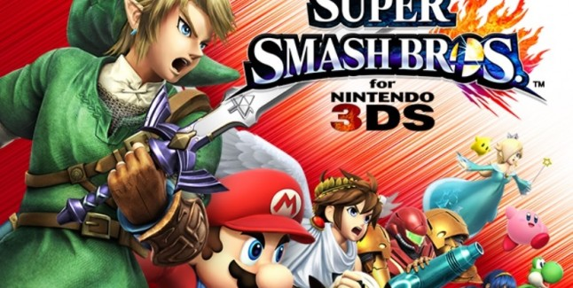 Super SmashBros. 4 3DS Cast Artwork Official Cropped