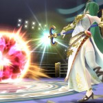 Super Smash Bros. 4 Palutena Magic Attack Wii U Gameplay Screenshot E3 2014