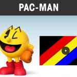 Super Smash Bros. 4 Wii U 3DS Pacman Newcomer Banner Artwork Official E3 2014