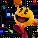 Super Smash Bros. Pacman Maze Artwork Official Wii U 3DS E3 2014