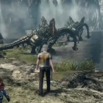 Xenoblade Chronicles X Dragons Gameplay Screenshot Wii U