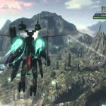 Xenoblade Chronicles X Flying Mech Gameplay Screenshot Wii U