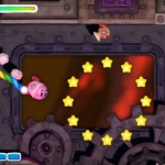Kirby And the Rainbow Curse Rocket Kirby Powerup Screenshot Wii U