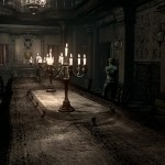 Resident Evil Remake HD Remaster A Dining Room Gameplay Screenshot PS4 Xbox One, PS3, 360 PC