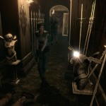 Resident Evil Remake HD Remaster Arrow Gameplay Screenshot PS4 Xbox One PS3 360 PC