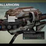 Destiny Gjallarhorn Exotic rocket launcher