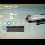 Destiny Hawkmoon Exotic hand cannon