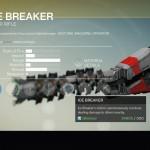 Destiny Ice Breaker Exotic sniper rifle