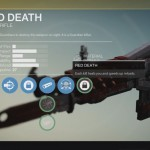 Destiny Red Death Exotic pulse rifle