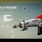 Destiny Suros Regime Exotic auto rifle