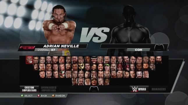 WWE 2K15 Superstars Roster - 52.4KB
