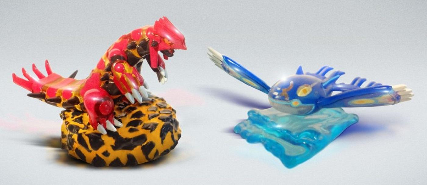 Pokemon Omega Ruby Alpha Sapphire Figures Pre Order Bonus