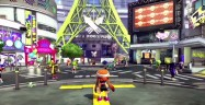 Splatoon Hub Online Plaza Lobby Gameplay Screenshot Wii U