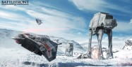 Star Wars Battlefront 2015 Screenshot Walkers and Snow
