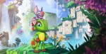 Yooka Laylee Artwork of Two Characters