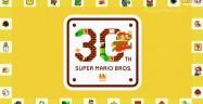 Super Mario Bros. 30th Anniversary Logo Artwork Official Nintendo