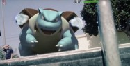 Pokemon Go Blastoise Realworld Trailer Screenshot iOS Android