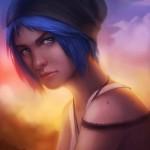 Life is Strange Fanart Chloe Teardrop by Lepyoshka