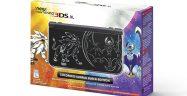 New 3DS XL Solgaleo Lunala Black Edition