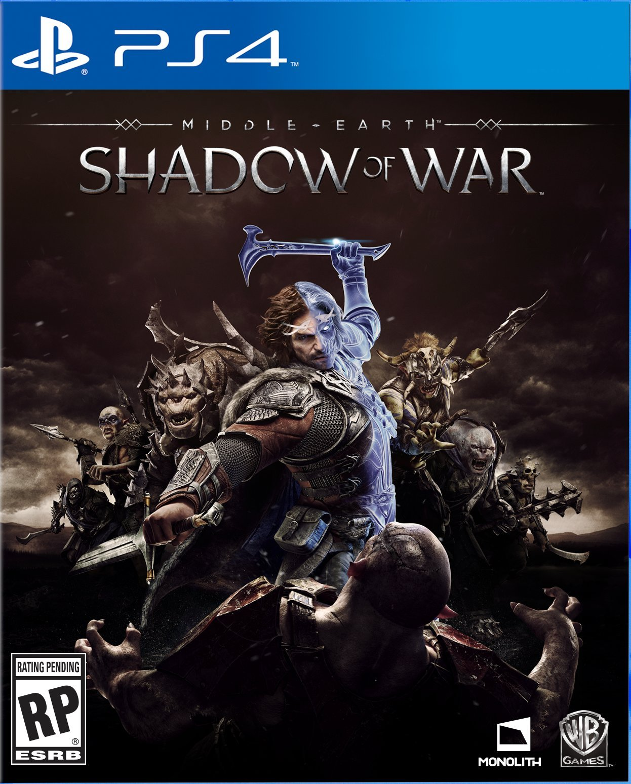 Middle-earth: Shadow of War Languages: French, Italian, German, Castilian Spanish, Latin American Spanish, Brazilian Portuguese, Polish, Russian, Japanese, Korean, Traditional Chinese, Simplified Chinese, and Arabic Platforms: PS4 and Xbox One