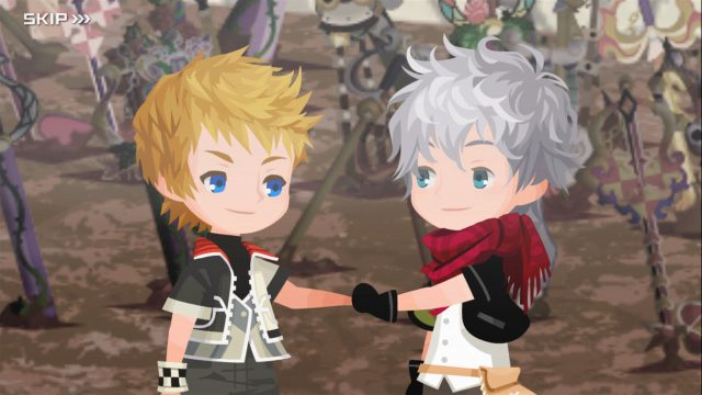 Kingdom Hearts: Union ? Screen