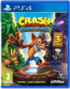 Crash Bandicoot N. Sane Trilogy Boxart