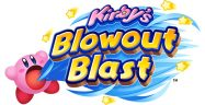 Kirby's Blowout Blast Logo