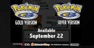 Pokemon Gold and Silver eShop September 22