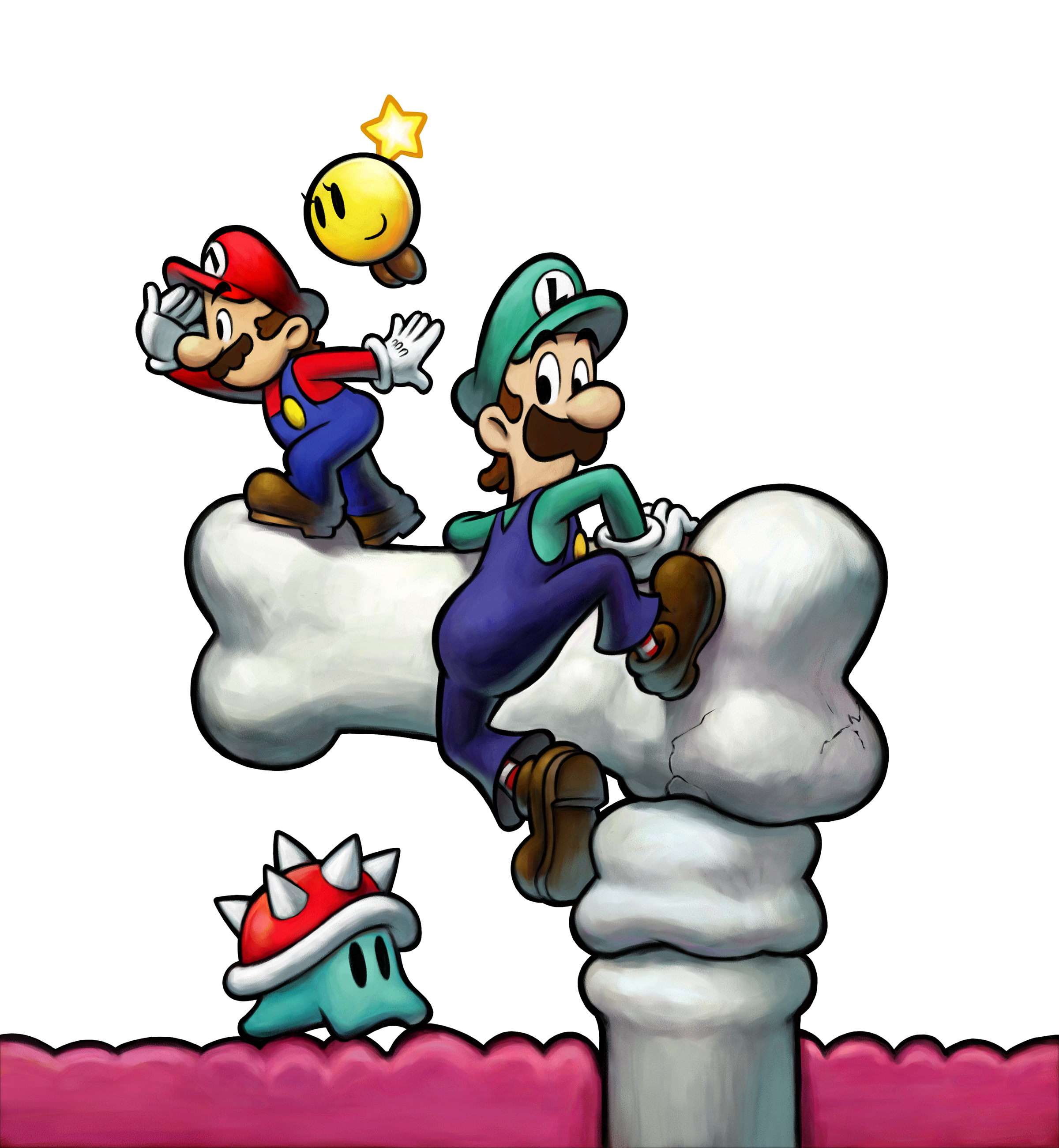 mario and luigi bowsers inside story rom working