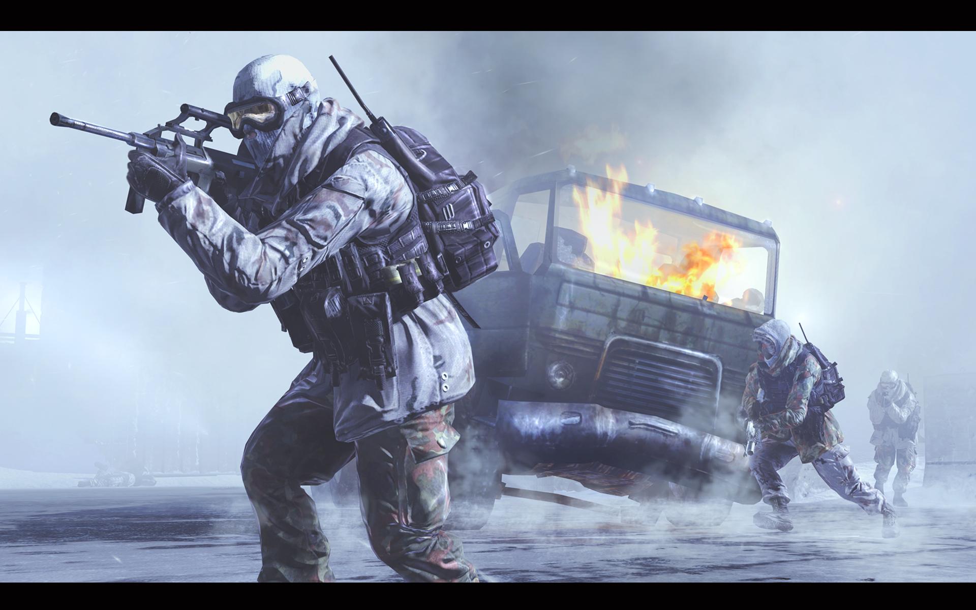 Call Of Duty Modern Warfare 2 Wallpaper Video Games Blogger
