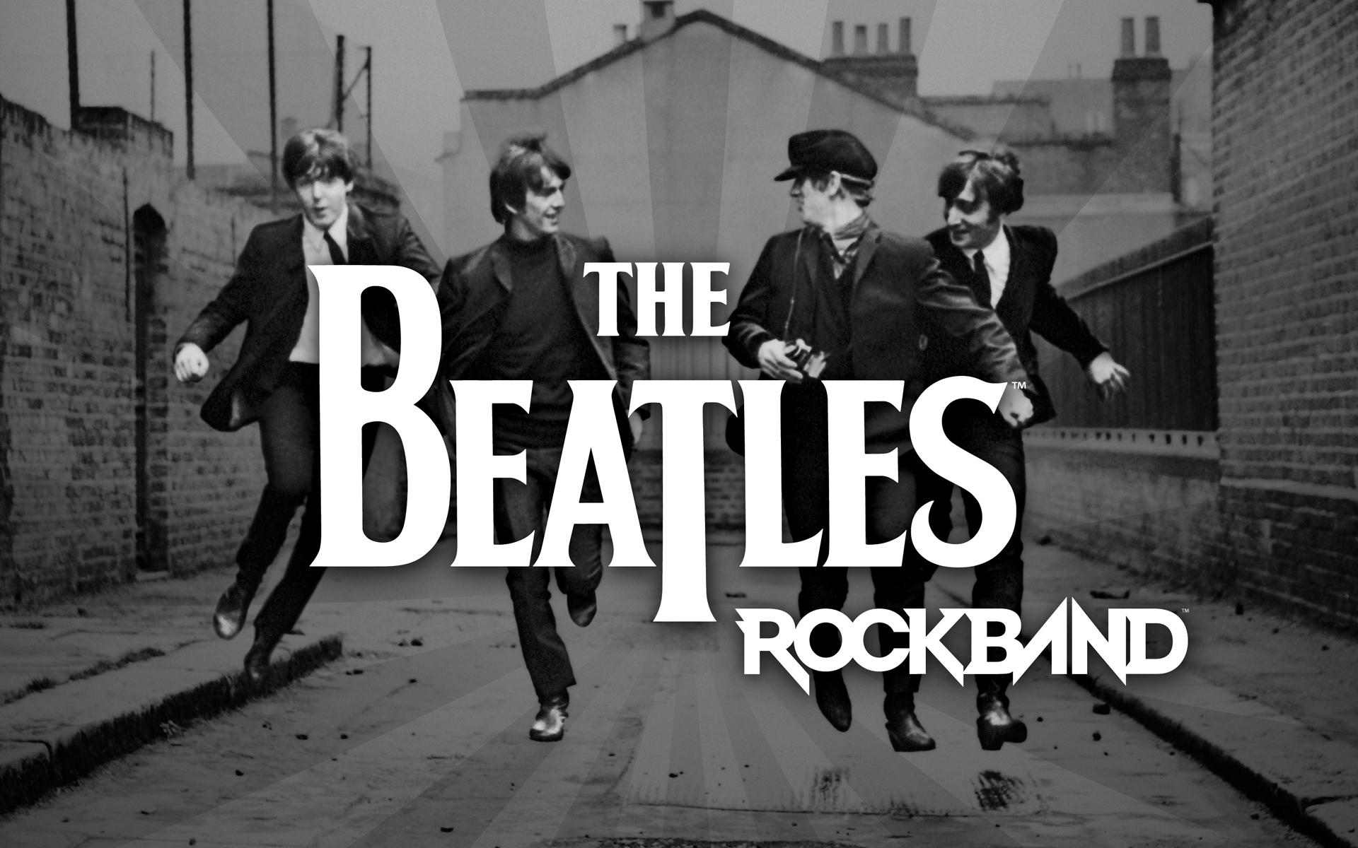 The Beatles Rock Band Wallpaper Video Games Blogger